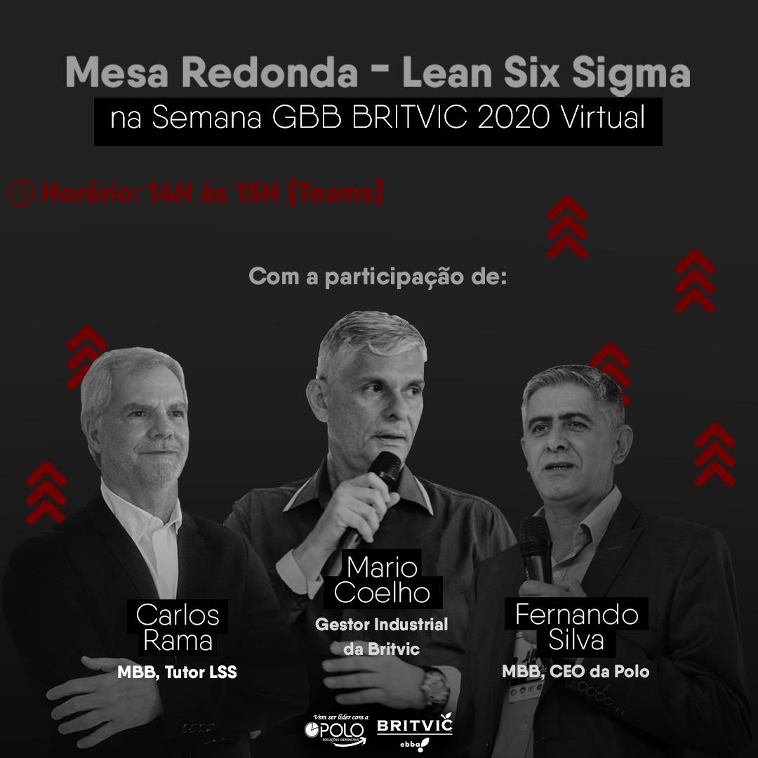 Mesa Redonda – Lean Six Sigma Britvic Ebba