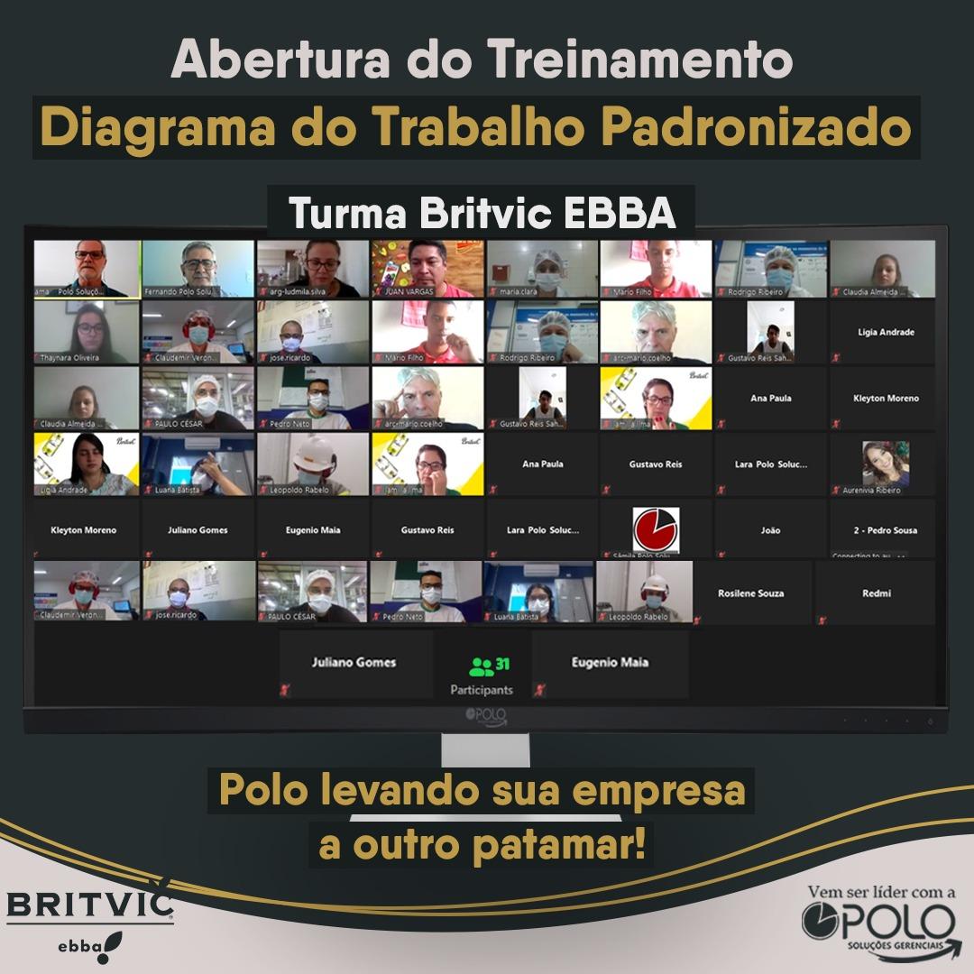 Diagrama do Trabalho Padronizado – Britvic EBBA