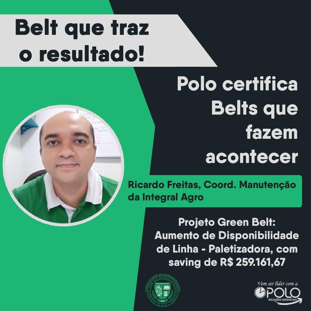 Mais um projeto Green Belt aprovado!
