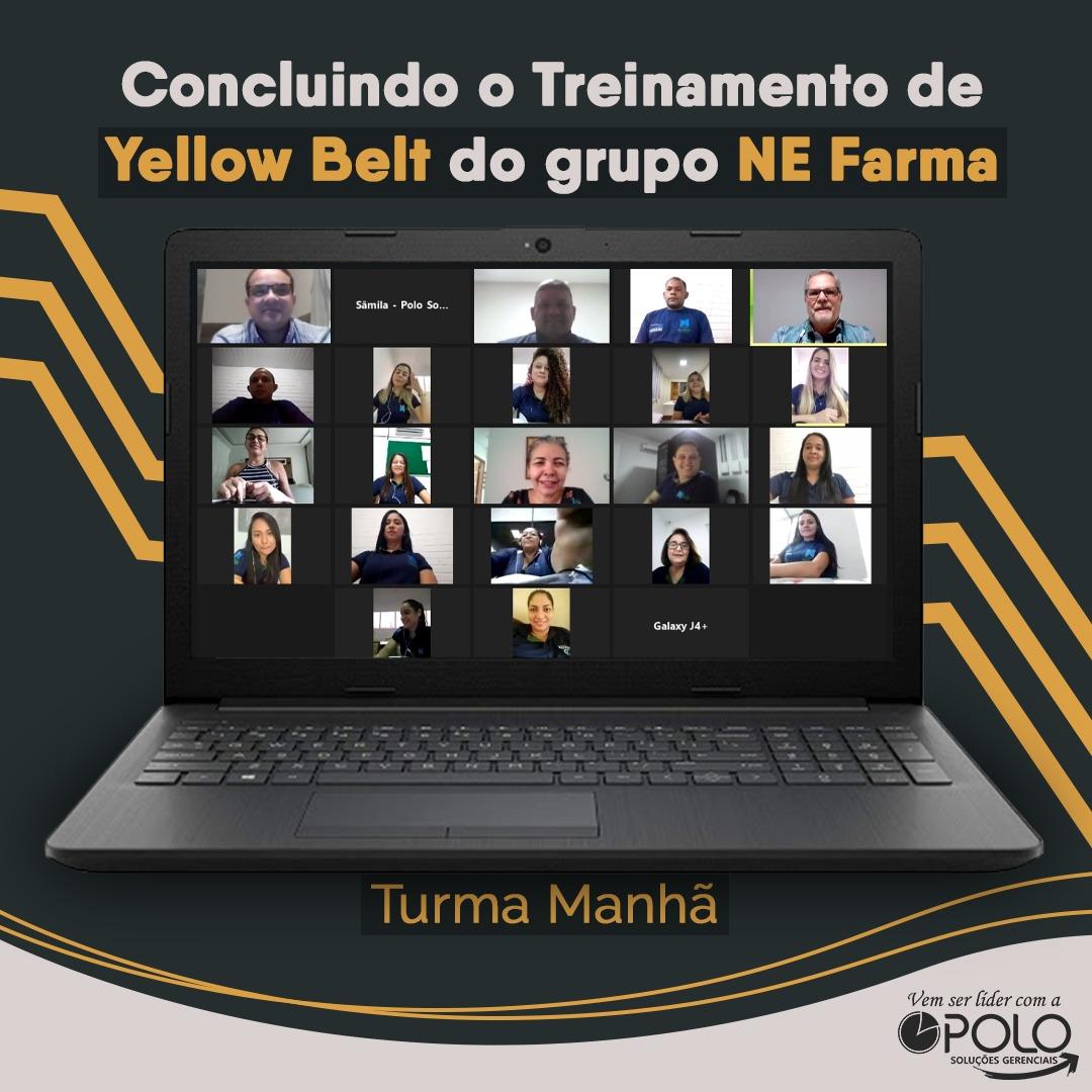 Conclusão Yellow Belt Grupo NE Farma